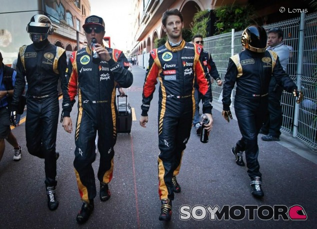 El día que Daft Punk estuvo con Lotus en el GP de Mónaco - SoyMotor.com
