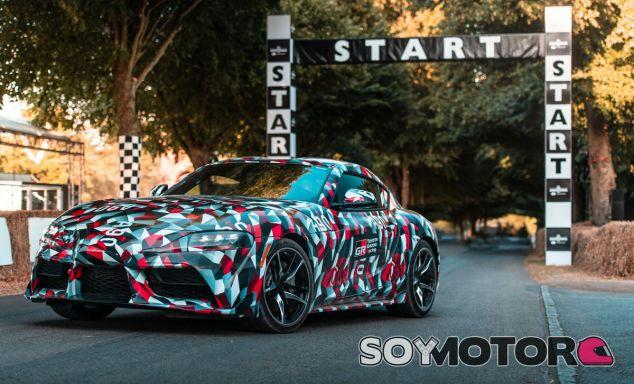 El Toyota Supra 2019 en Goodwood - SoyMotor