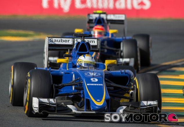 Los dos pilotos de Sauber en el GP de Australia - LaF1
