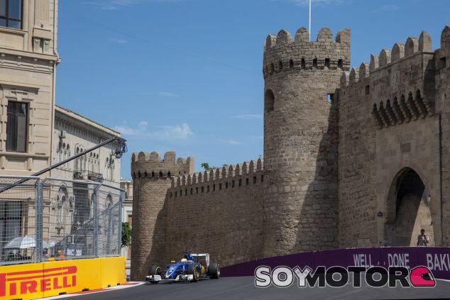 Marcus Ericsson en Bakú - LaF1