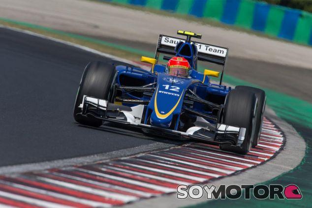 Felipe Nasr en Hungría - LaF1.es