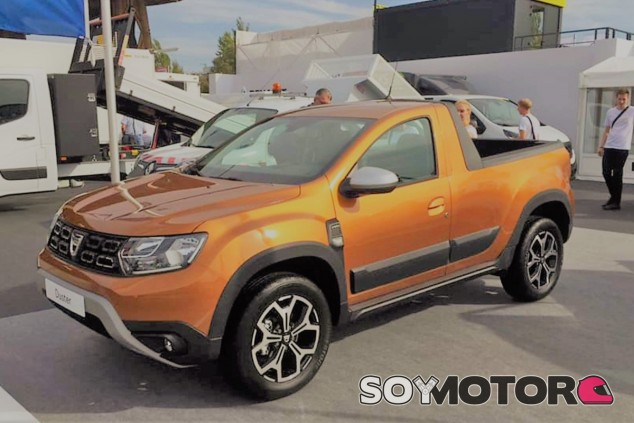 El Duster Pick-up de segunda generación llegará al mercado a finales de 2019 - SoyMotor.com