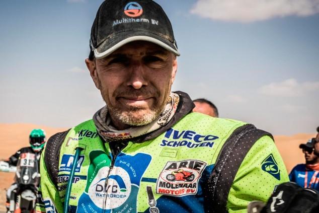 Edwin Straver, en estado crítico tras una caída en la Etapa 11 del Dakar - SoyMotor.com