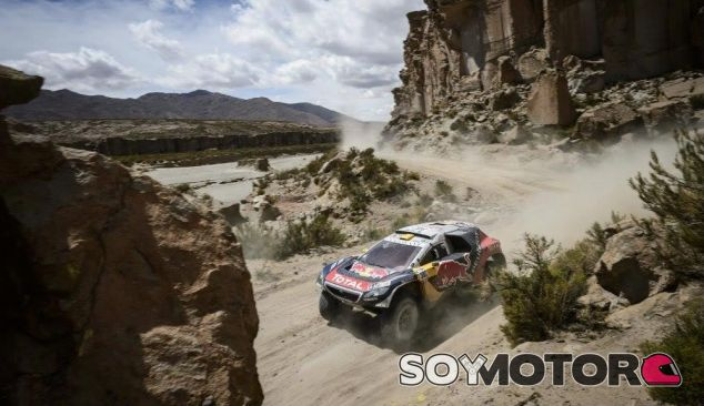 Peterhansel en el rally Dakar - LaF1