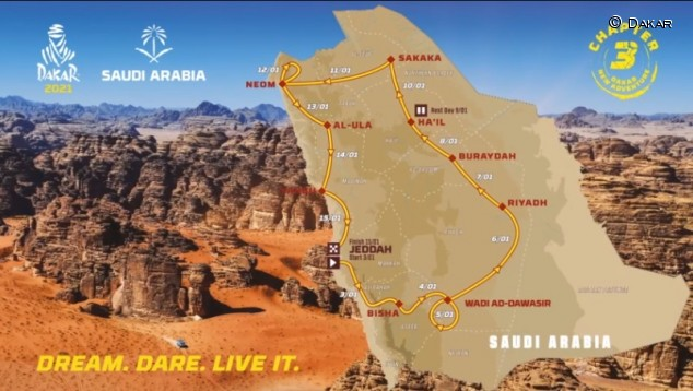 El Dakar presenta recorrido y novedades para la edición 2021 - SoyMotor.com
