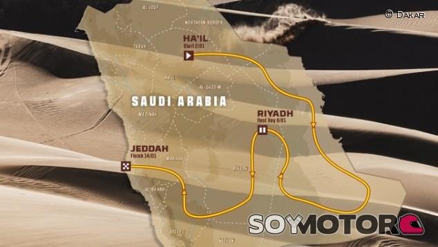 El Dakar presenta el recorrido de 2022 - SoyMotor.com
