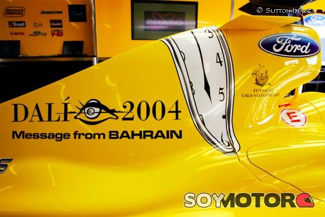 Cuando la F1 era aún más surrealista: Dalí en un Jordan - SoyMotor.com