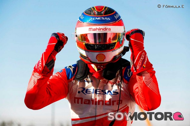 Jérôme D'Ambrosio celebra su victoria en el ePrix de Marrakech - SoyMotor
