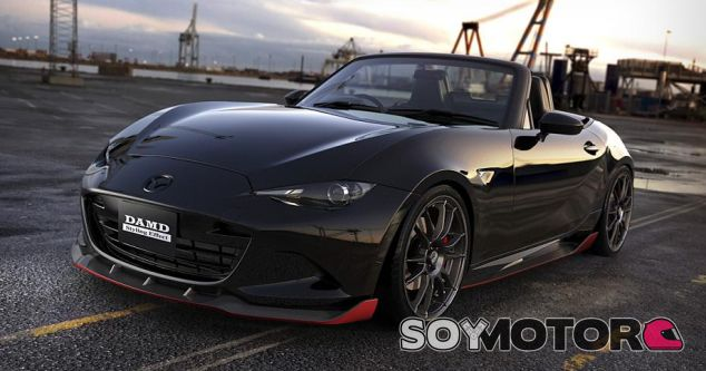 Mazda MX-5 by DAMD: oscuridad total