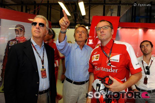 Piero Ferrari, Luca di Montezemolo y Stefano Domenicali - LaF1