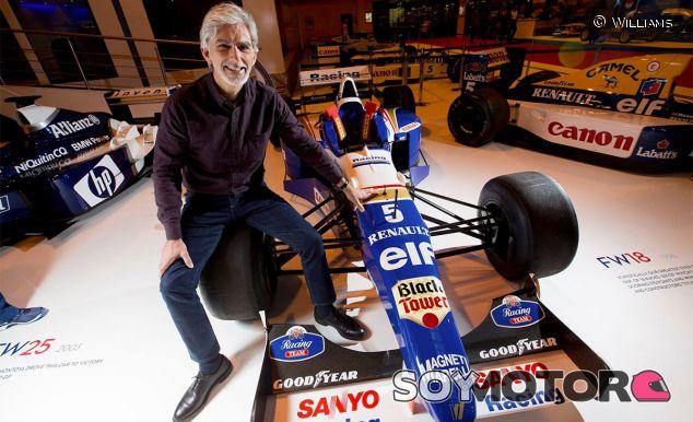 Damon Hill en el Autosport International Show - LaF1