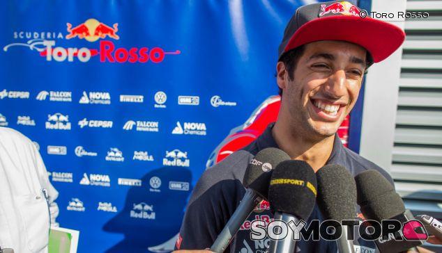 Daniel Ricciardo en Hungría