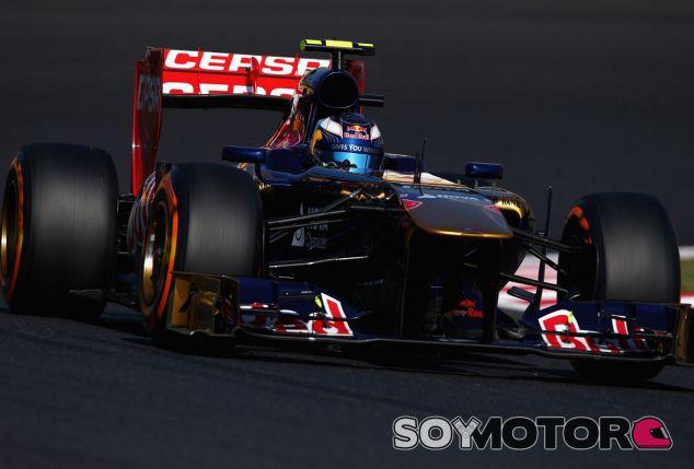 Toro Rosso en el GP de Japón F1 2013: Domingo