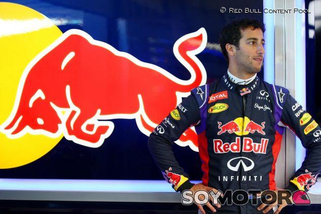 Daniel Ricciardo durante los test de Jerez - LaF1