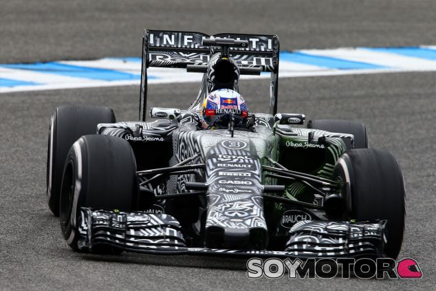 Daniel Ricciardo durante la pretemporada - LaF1