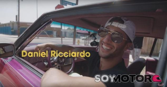 Daniel Ricciardo pasa un día de sus vacaciones conduciendo por Los Ángeles - Donut Media