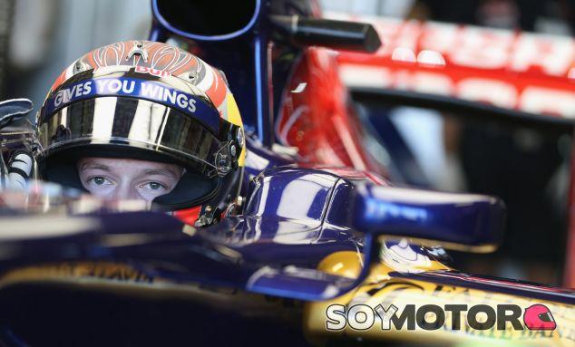 Danii Kvyat con Toro Rosso en los test de jóvenes pilotos de Silverstone - LaF1