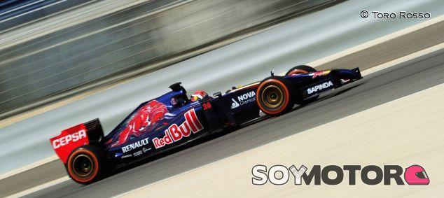 Un fallo técnico ha impedido a Toro Rosso completar la jornada de test