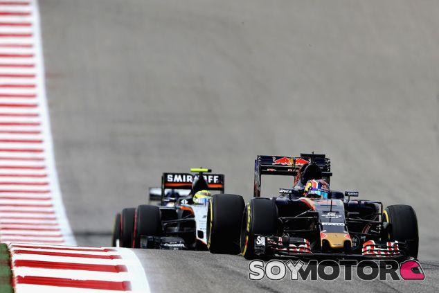 Daniil Kvyat en Austin - LaF1