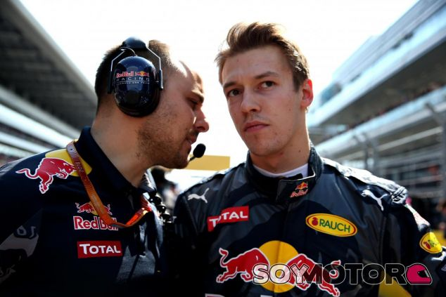 Kvyat le dio la excusa perfecta a Red Bull - LaF1