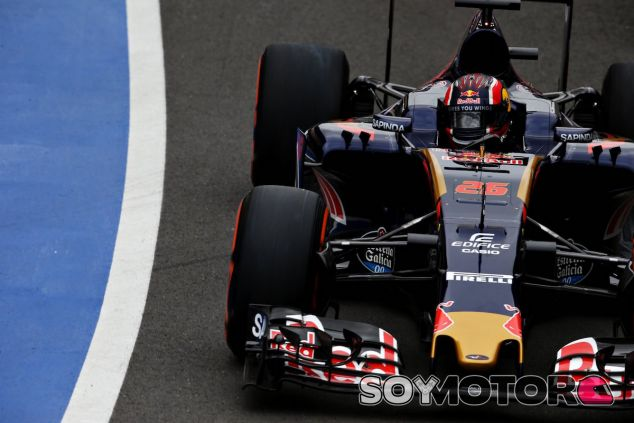 Daniil Kvyat en Silverstone - LaF1