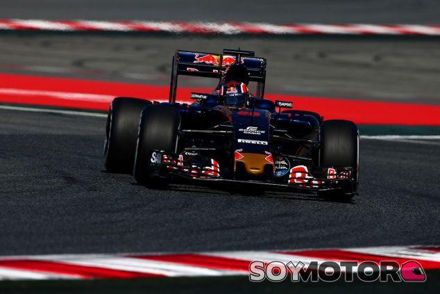 Daniil Kvyat en los entrenamientos libres del GP de España - LaF1