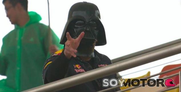 Darth Vader estuvo presente en la tribuna principal de Shanghái - SoyMotor
