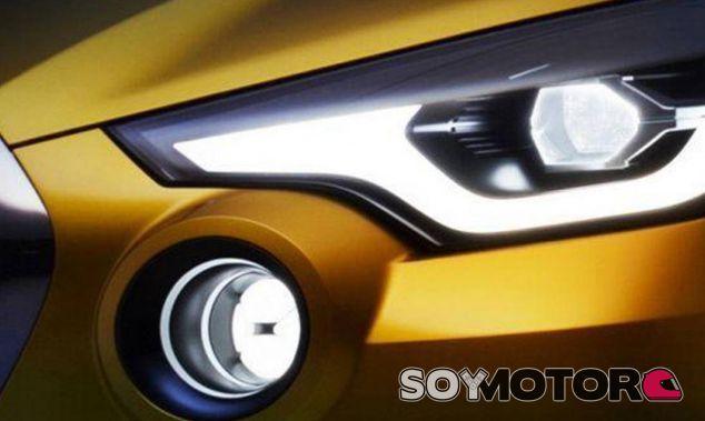 Este faro es lo único que conocemos del concept de Datsun - SoyMotor