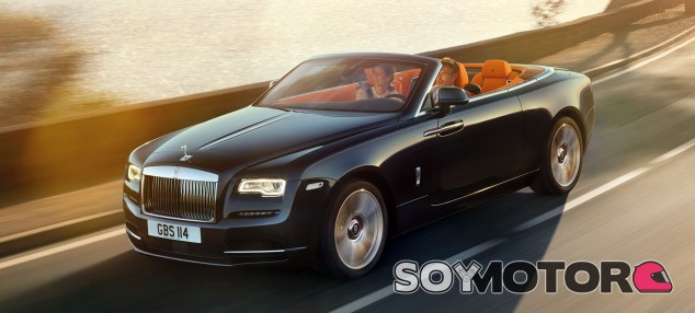Rolls Royce Dawn, el segundo descapotable inglés -SoyMotor