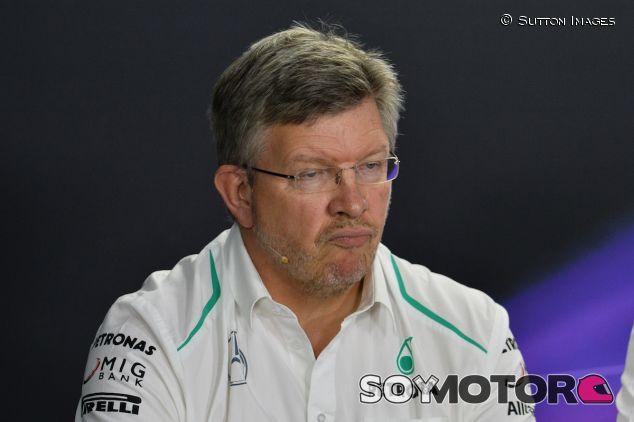 Ross Brawn en rueda de prensa - LaF1
