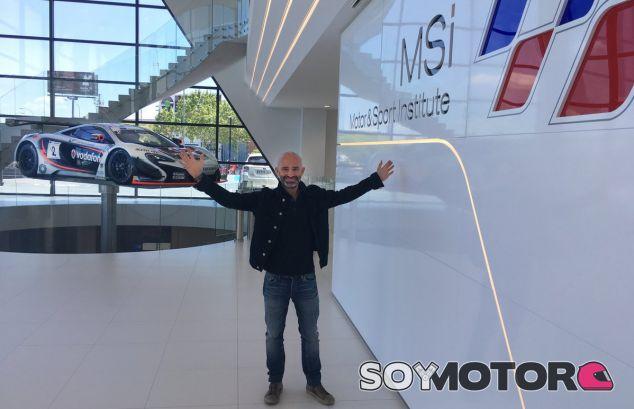 Nuestro codirector, Antonio Lobato, en el MSI – SoyMotor.com