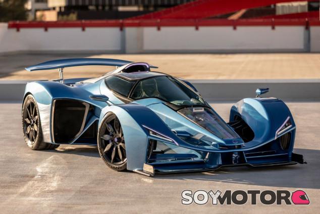 Delage D12: aerodinámica por doquier y hasta 1.115 caballos híbridos - SoyMotor.com
