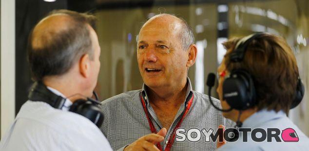 Ron Dennis durante el GP de Japón