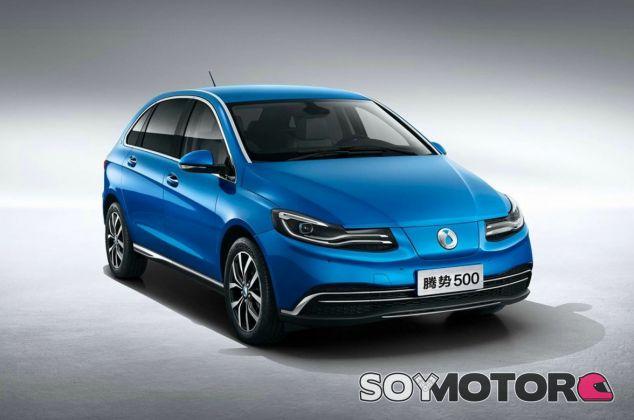 Denza 500: el nuevo eléctrico de Daimler para el mercado chino - SoyMotor.com