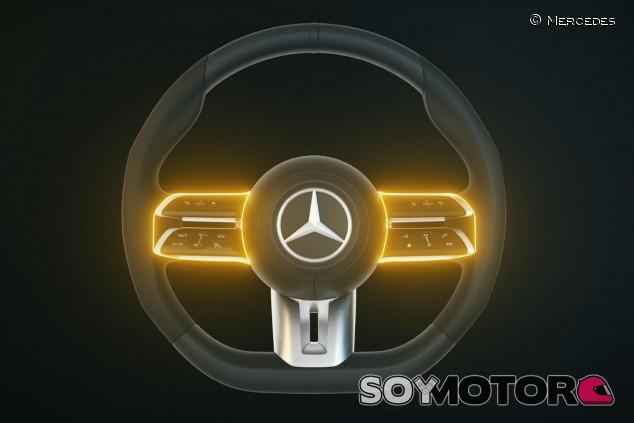 Detección capacitiva: así funciona el nuevo volante de Mercedes-Benz - SoyMotor.com
