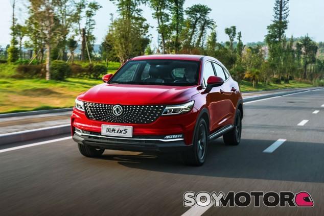 DFSK IX5 2020: nuevo SUV coupé llegado de China - SoyMotor.com