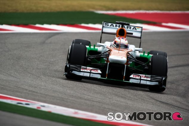 Paul di Resta a los mandos de su VJM06 - LaF1