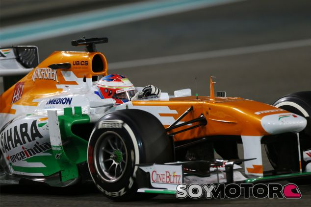 Paul di Resta a los mandos de su Force India - LaF1