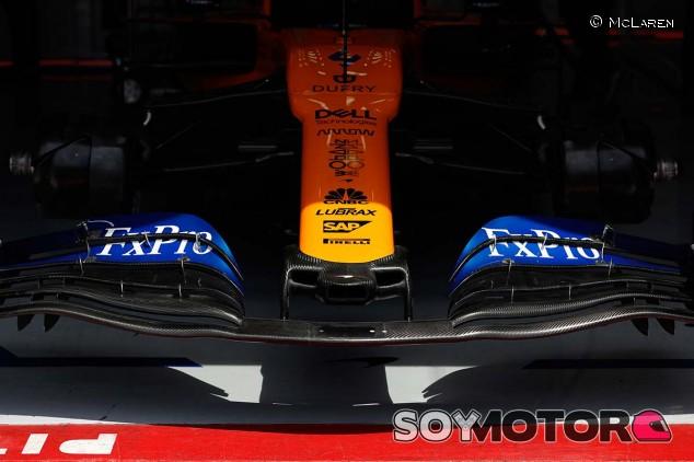 McLaren MCL34 en una imagen de archivo del GP de Francia F1 2019 - SoyMotor