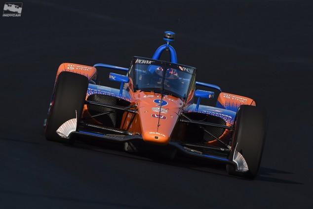 El aeroscreen de IndyCar realiza su primer test en Indianápolis - SoyMotor.com