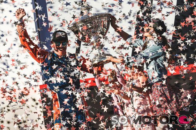 Scott Dixon celebra su título en Sonoma - SoyMotor.com