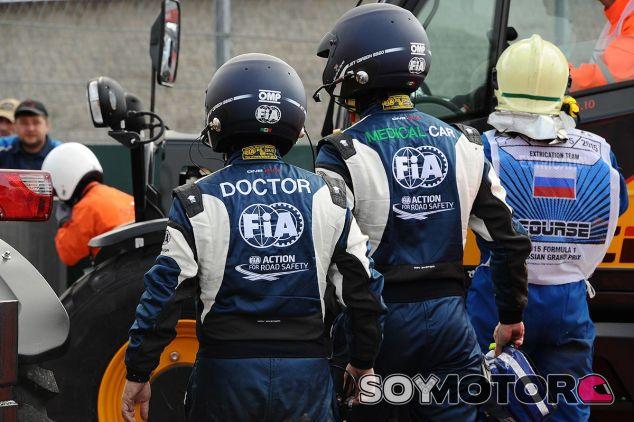 Accidente de Carlos Sainz en Rusia 2015 - LaF1