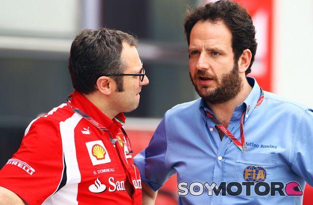 Domenicali en su etapa en Ferrari - SoyMotor