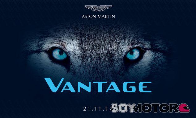 La nueva generación del Aston Martin Vantage se presentará el próximo 21 de noviembre- SoyMotor