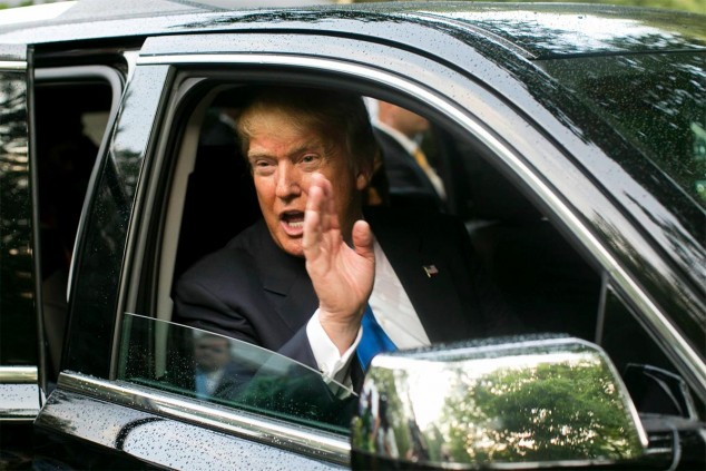 Donald Trump en una imagen de archivo - SoyMotor.com