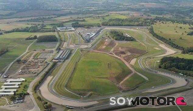 Trazado de Donington Park - SoyMotor