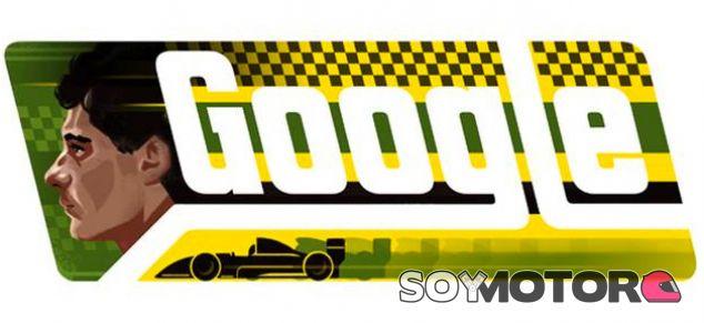 Google homenajeará a Senna en el que sería su 54 cumpleaños - LaF1