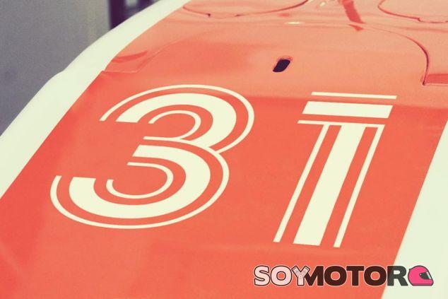 Dorsal 31 que lucirá Esteban Ocon en Fórmula 1 - LaF1