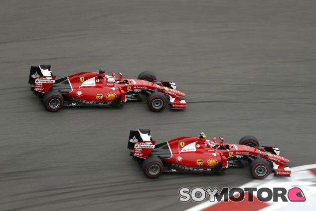 Räikkönen no le facilitó el adelantamiento a Vettel en Rusia - LaF1