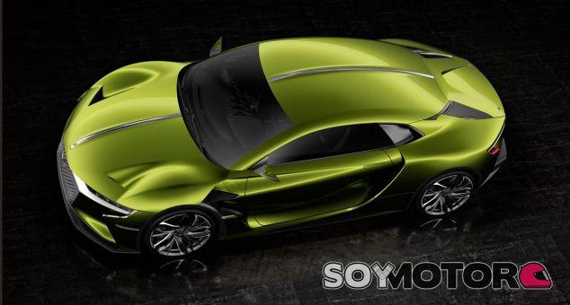 DS E-Tense Concept - SoyMotor.com